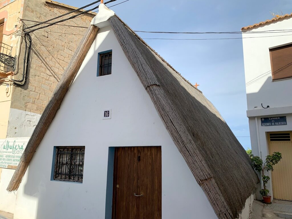 Típica barraca valenciana