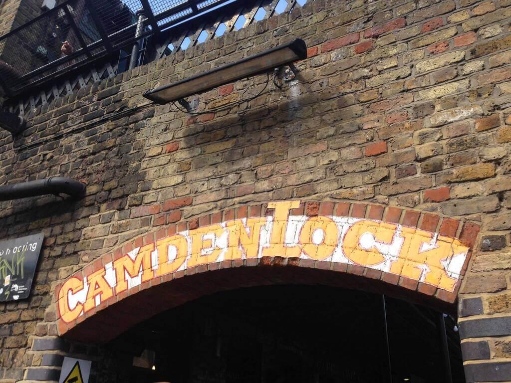Una de las entradas a Camden Town