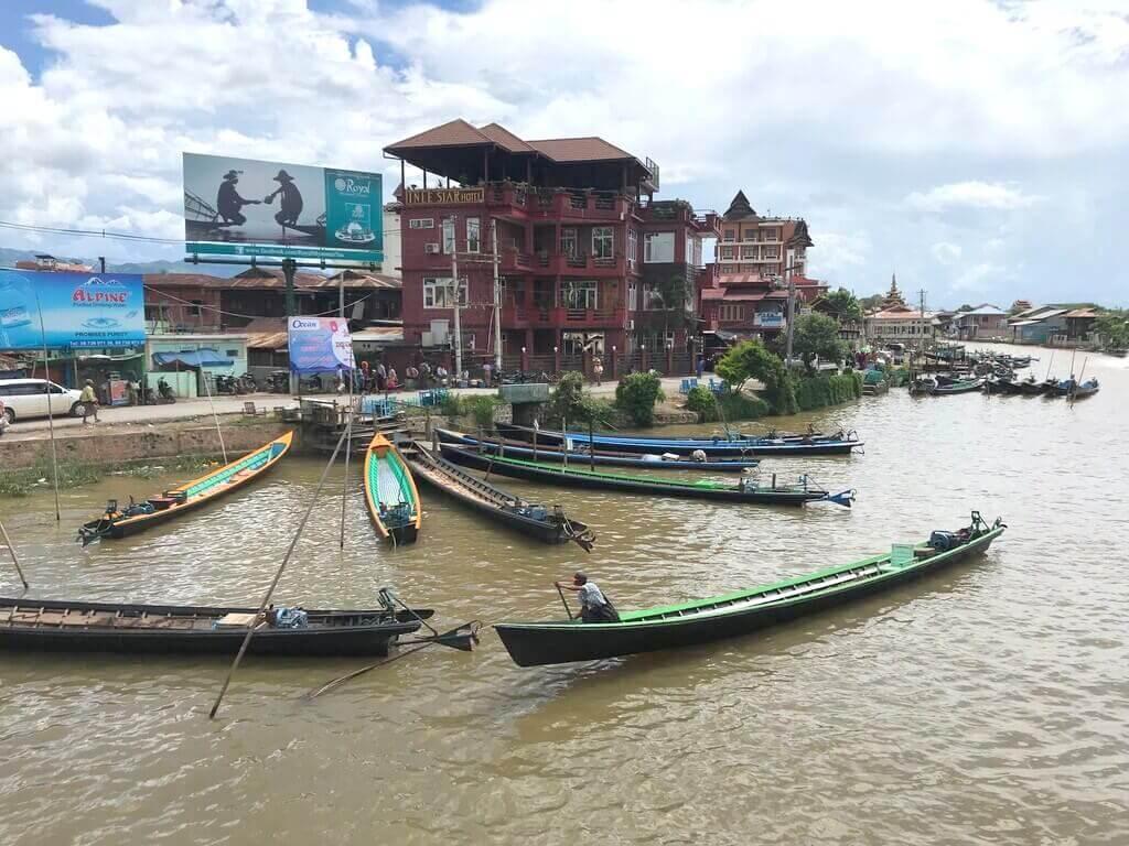 Embarcadero de Nyaung Shwe