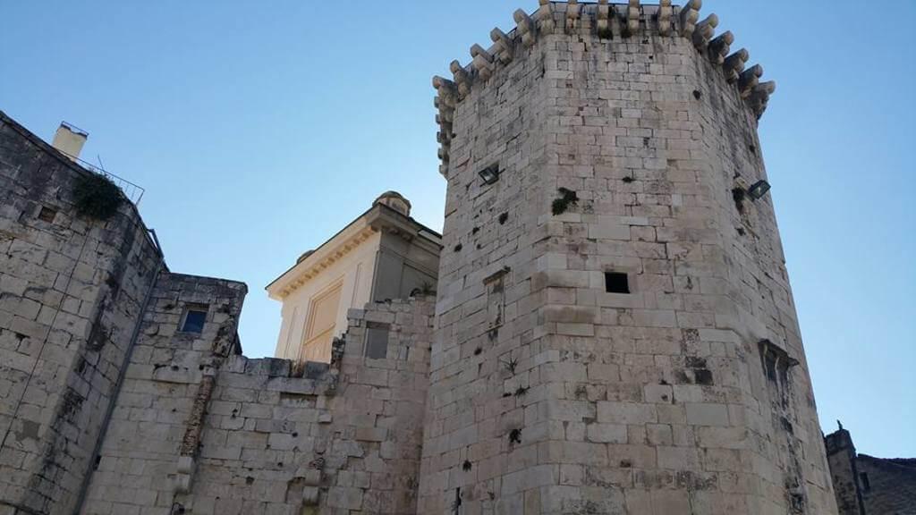 Muros del Palacio de Diocleciano