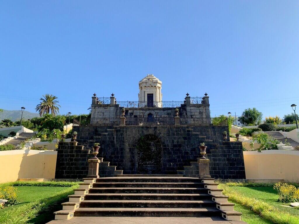 Parte superior de los Jardines Victoria