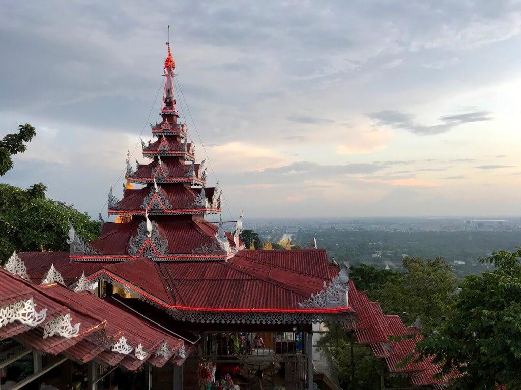Parte superior de la Mandalay Hill