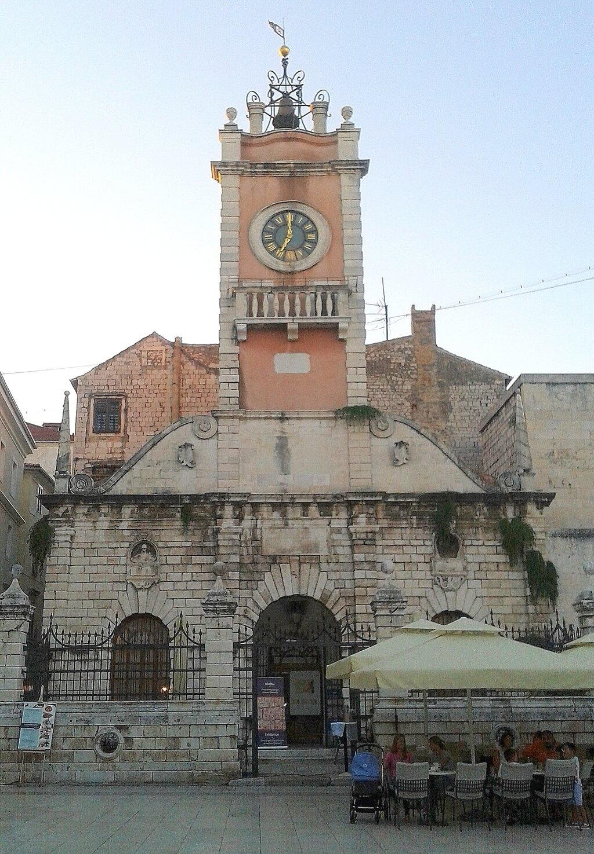Edificio de la Guardia Municipal de Zadar
