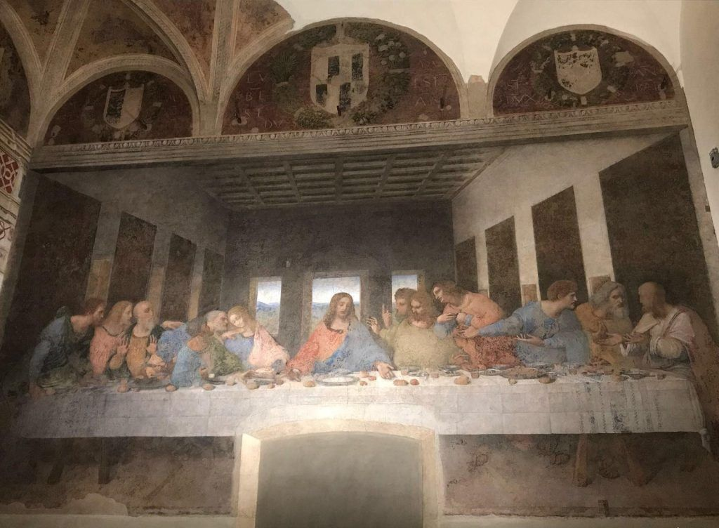 cuadro La última cena de Da Vinci