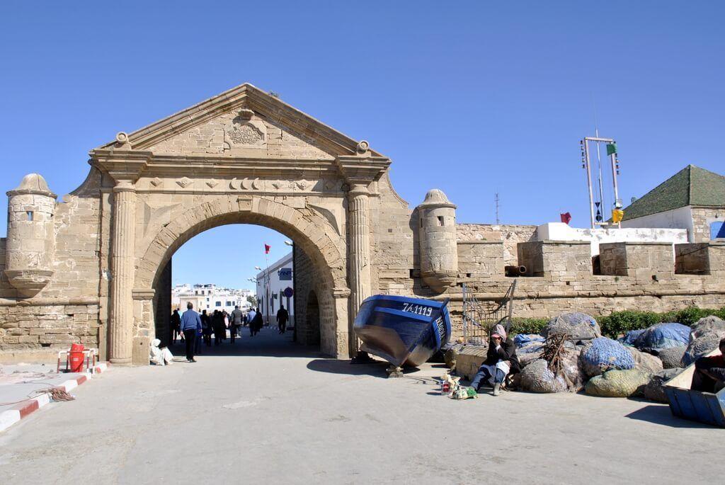 Murallas de entrada a Essaouira