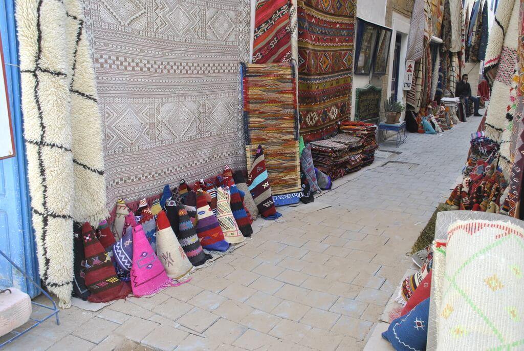Puestos de alfombras