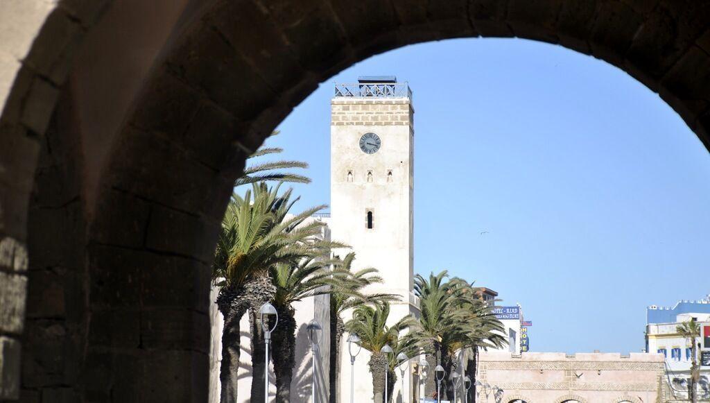 Acceso a la medina de Essaouira