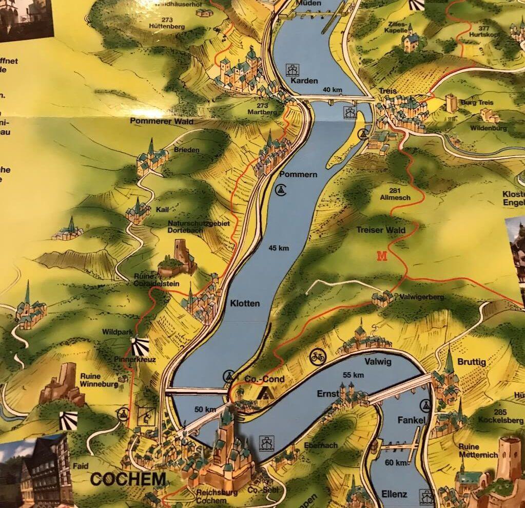 ruta por el valle del Mosela
