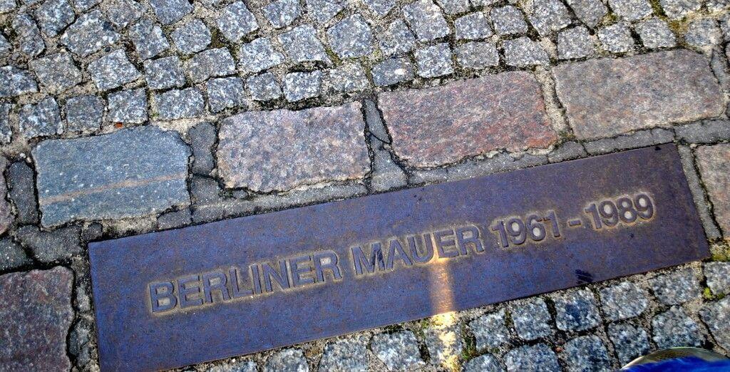 Separación del muro de Berlín