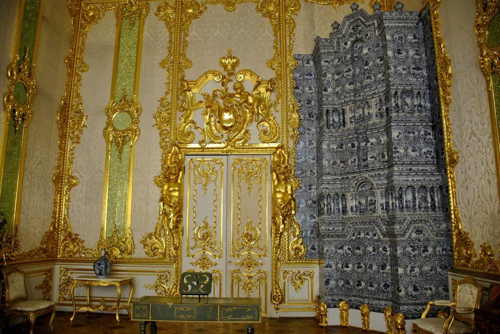 Interior del Palacio de Catalina