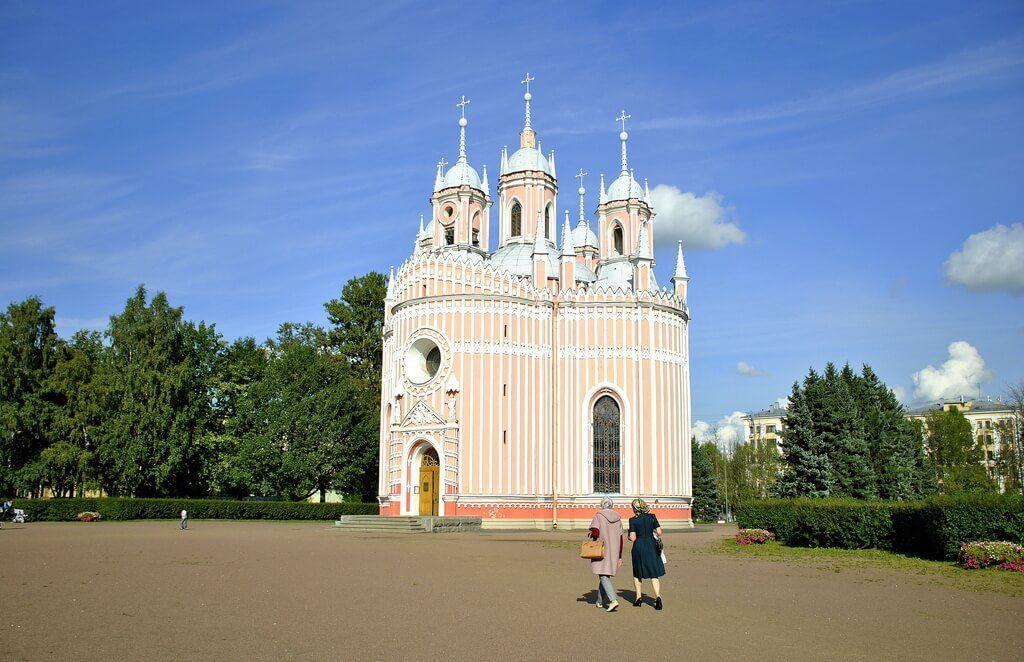 iglesia de Chesme, San Petersburgo