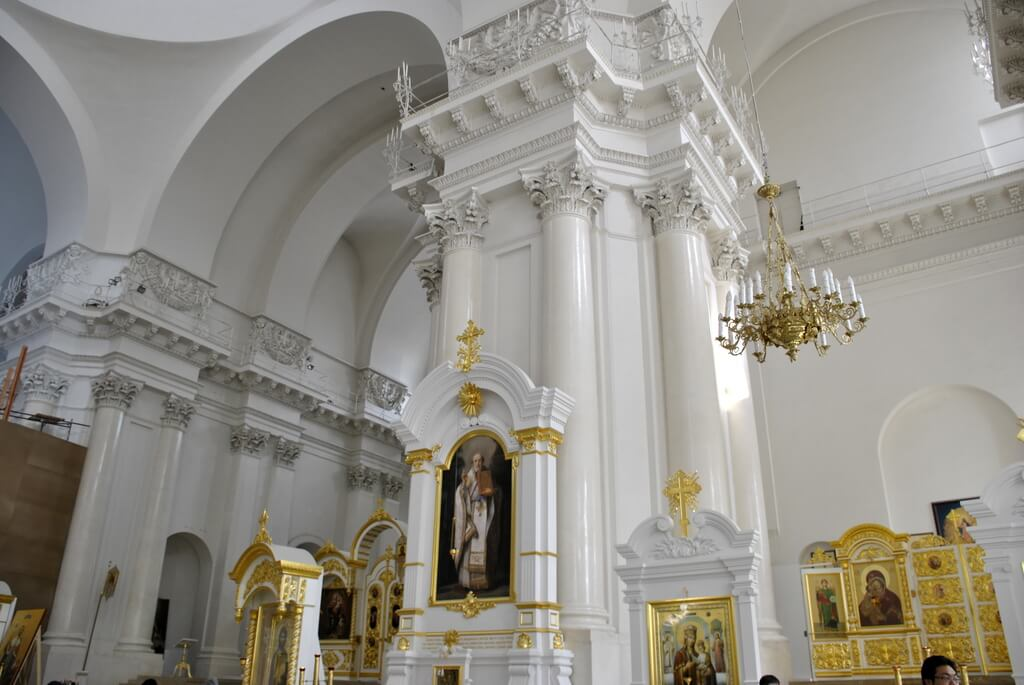 Interior Catedral de Smolny