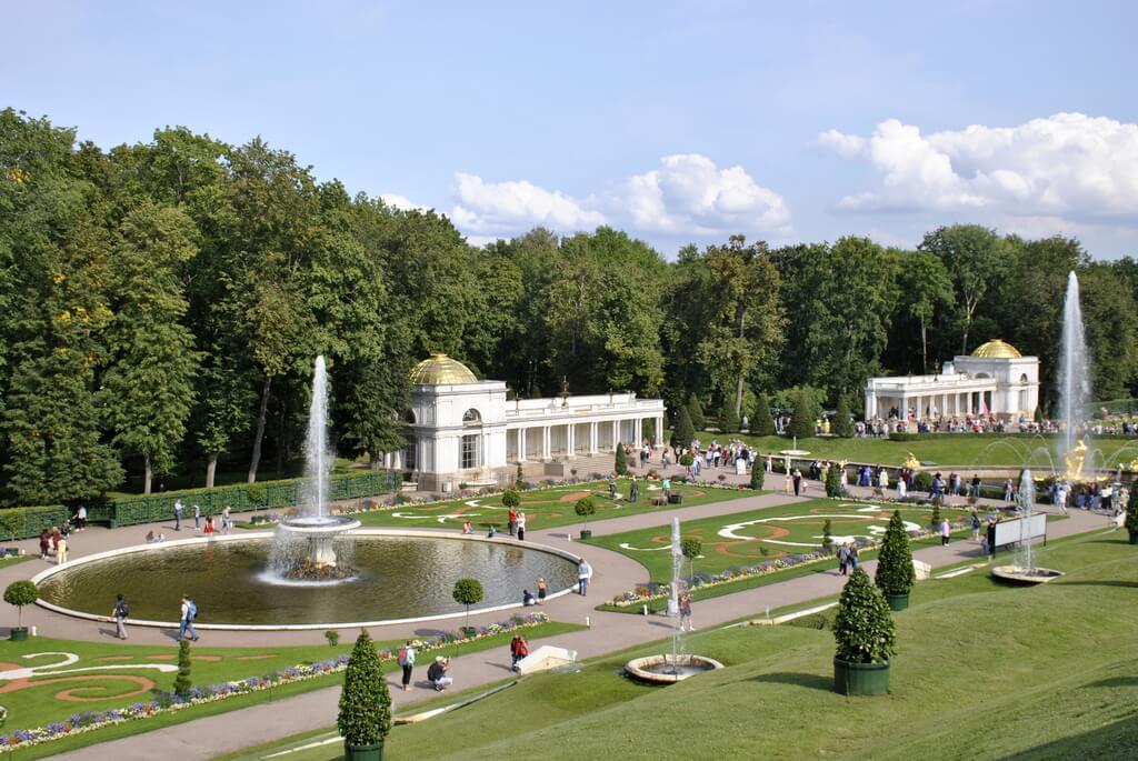 Jardines de Peterhof