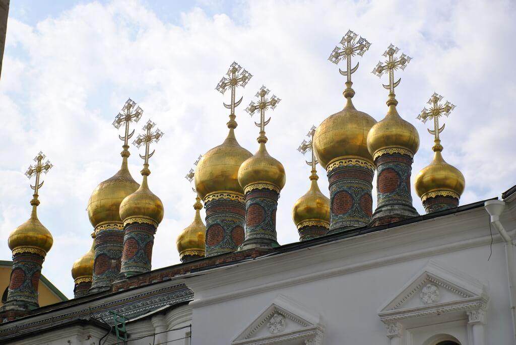 Cúpulas de la Iglesia de la Deposición del Manto de la Virgen