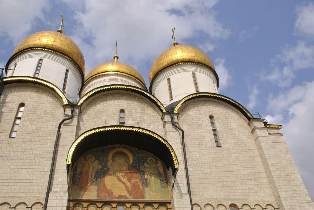 plaza de las catedrales Kremlin