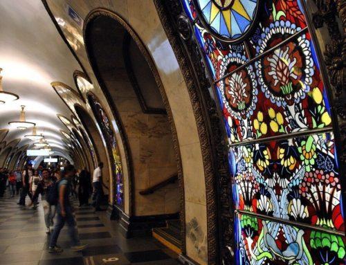 Las estaciones más bonitas del metro de Moscú