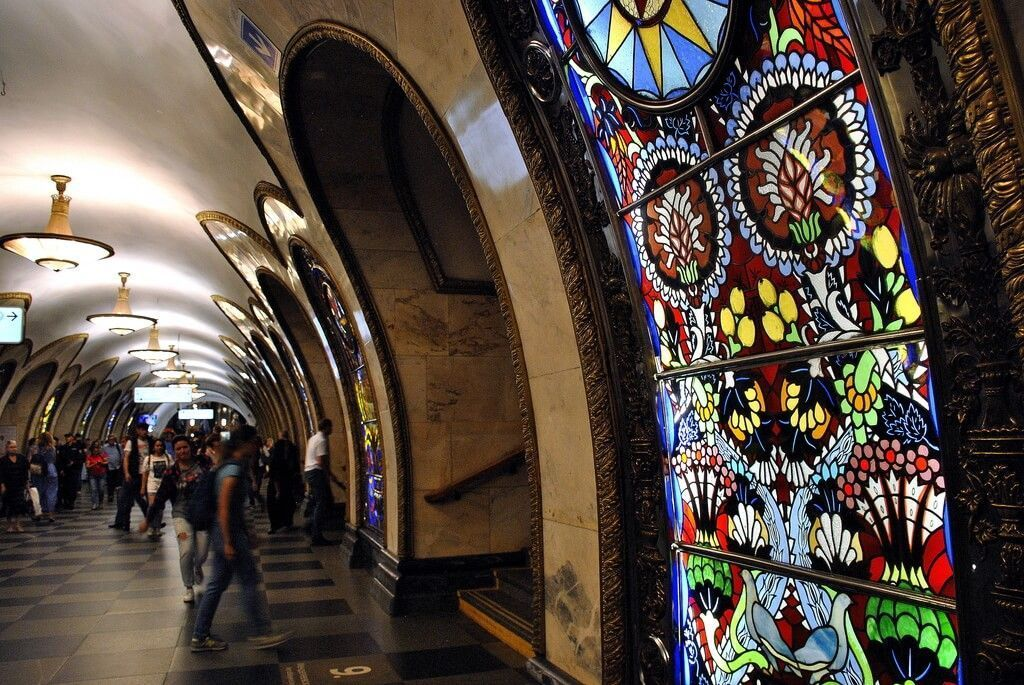 estaciones más bonitas metro Moscú