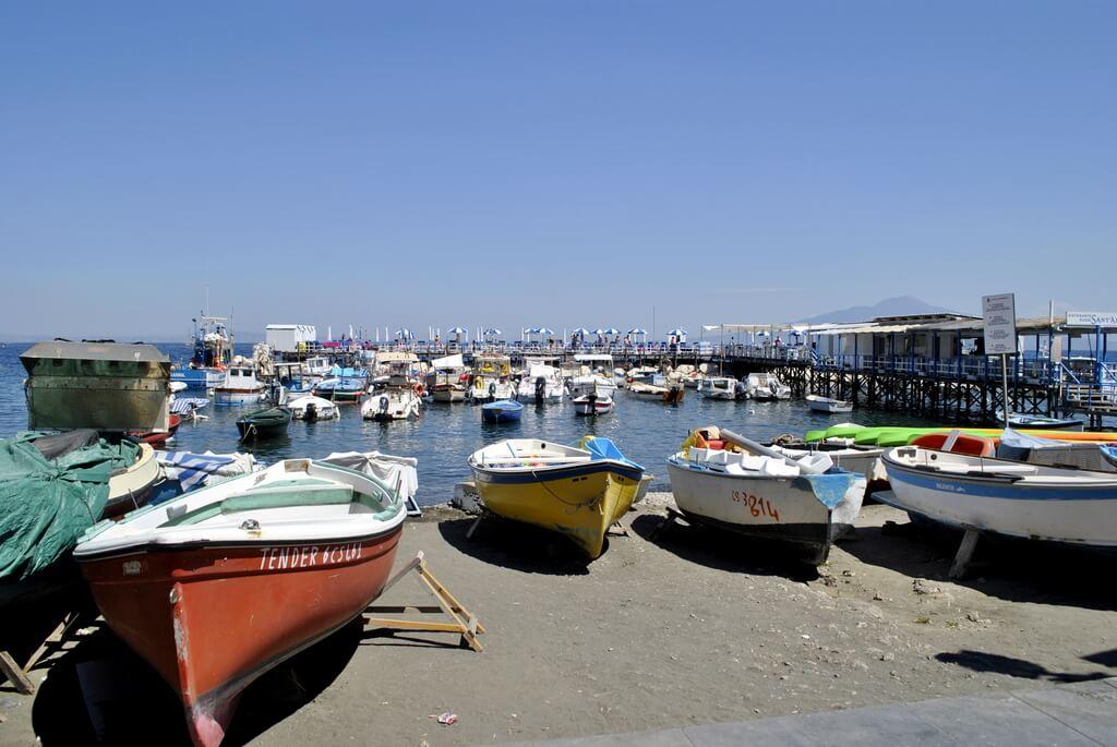 Puerto pesquero de Sorrento