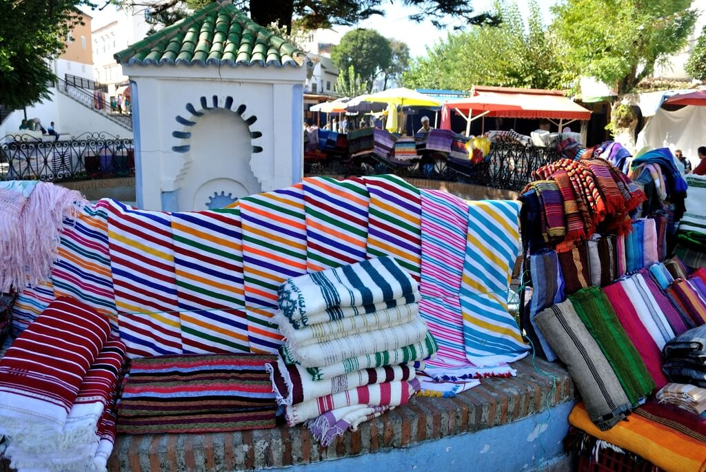 Artesanía en la Plaza Outa El-Hamman