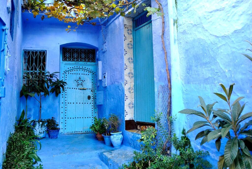 Rincones azules de Chefchaouen