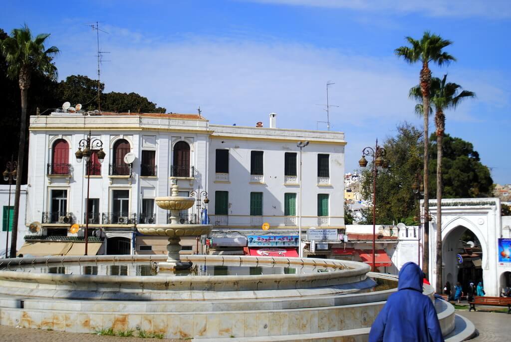 Puerta Bab El-Fas, entrada a la medina de Tánger