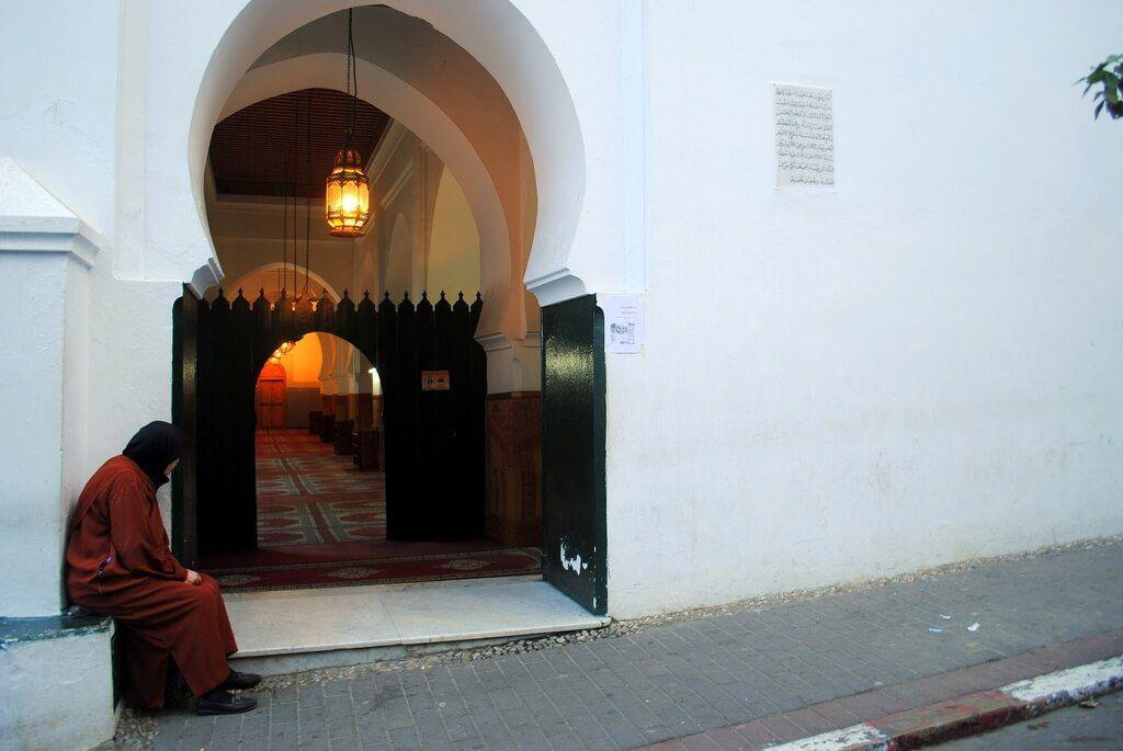 Mezquita. Medina de Tánger