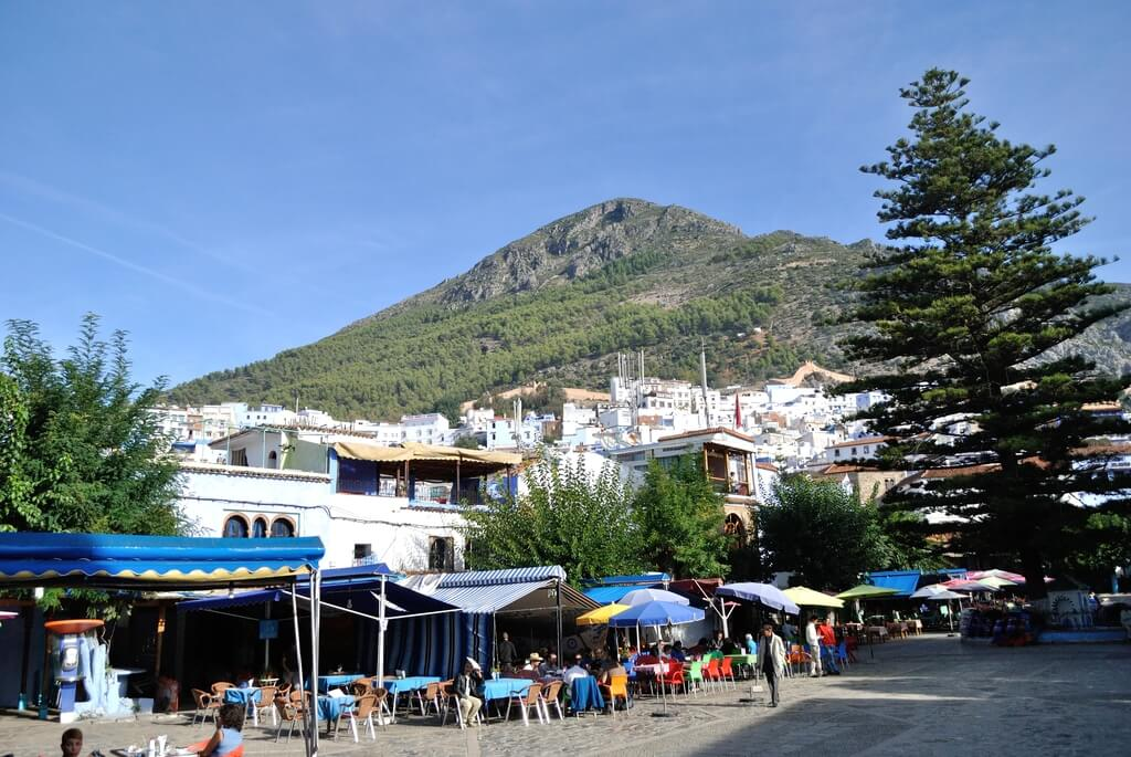 Cafés y restaurantes de la plaza