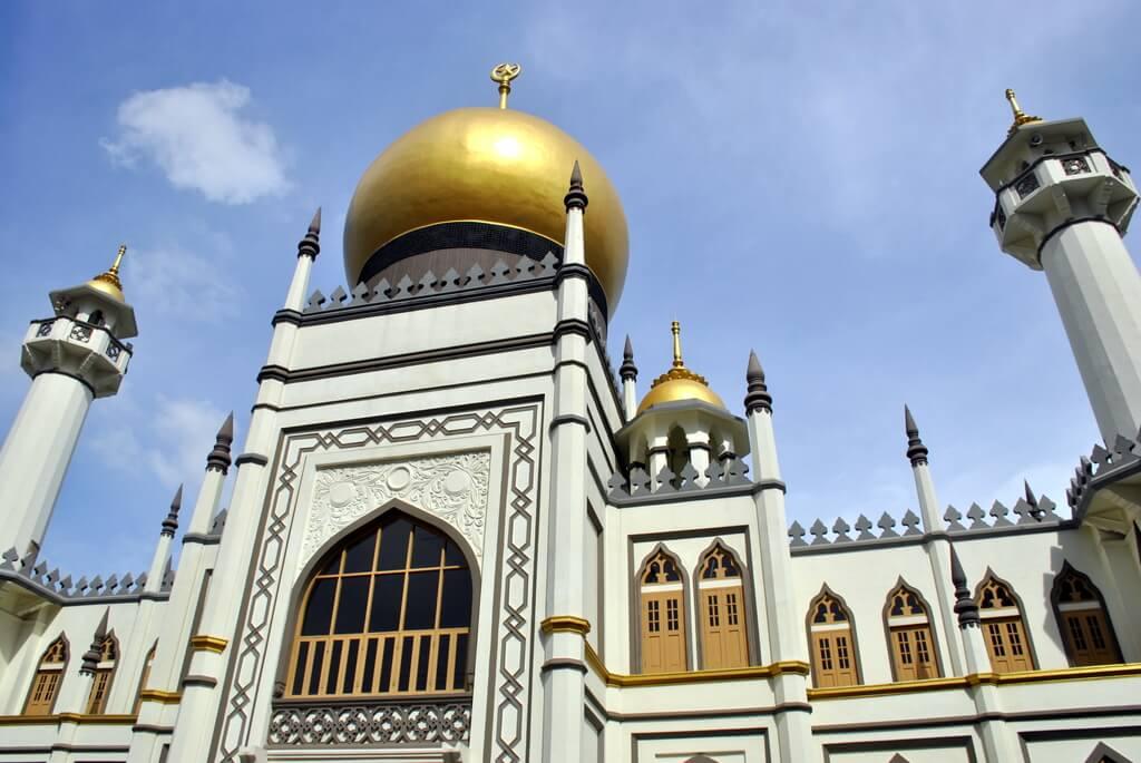Fachada principal de la Mezquita del Sultán