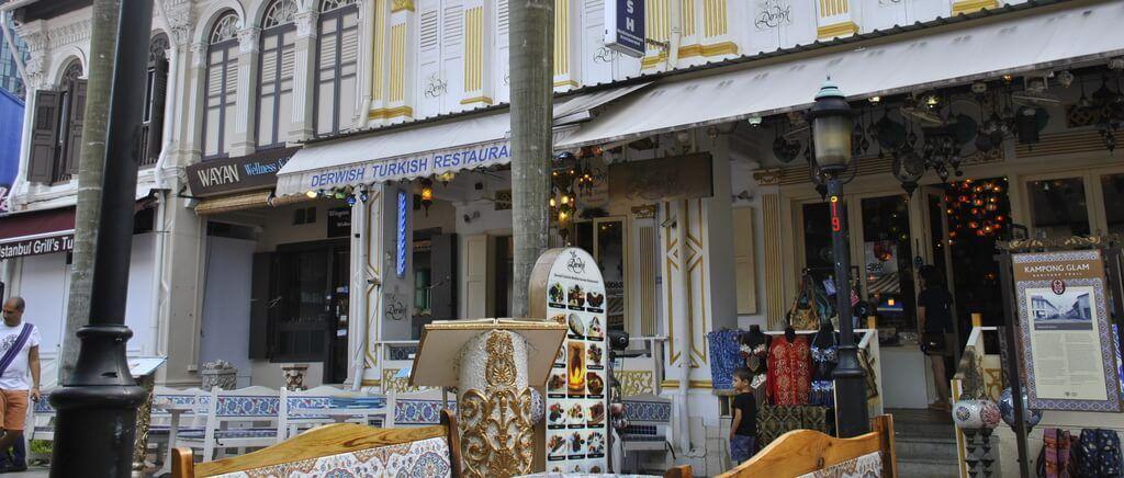 Tiendas de Arab Street