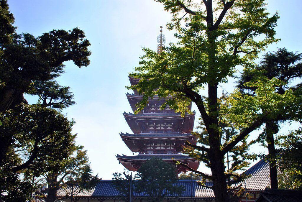 Pagoda de los cinco pisos