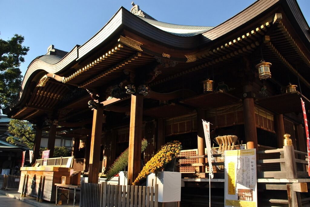 Salón principal del templo