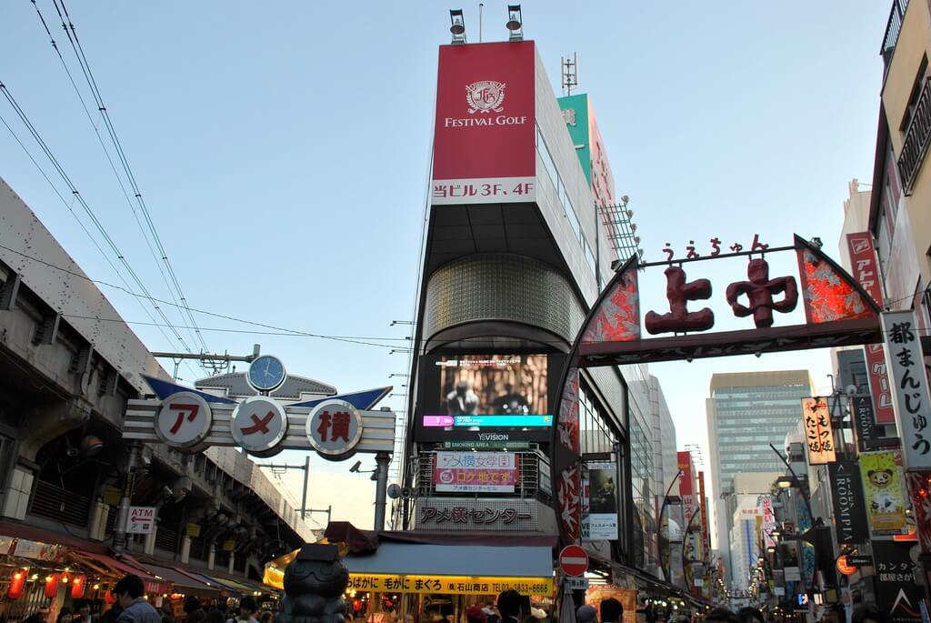 Entrada a Ameyoko Market