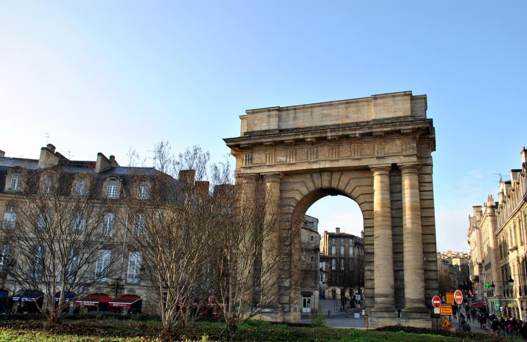Puerta Borgoña, Burdeos