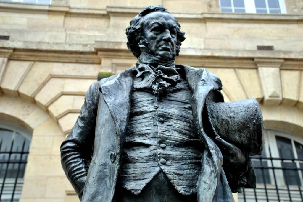 Estatua de Goya, Burdeos
