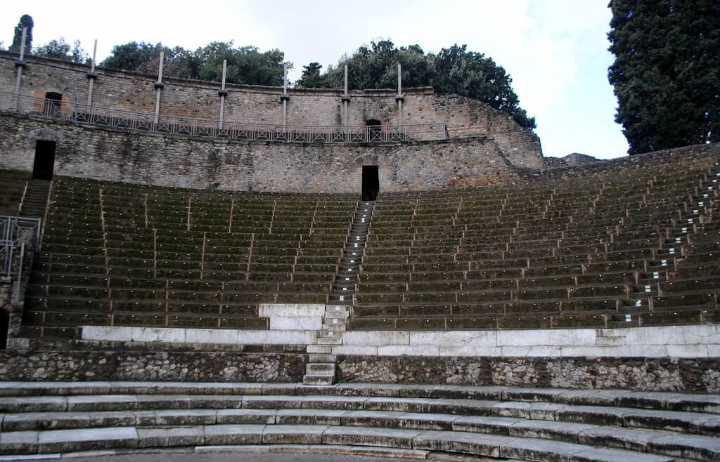 teatro de Pompeya