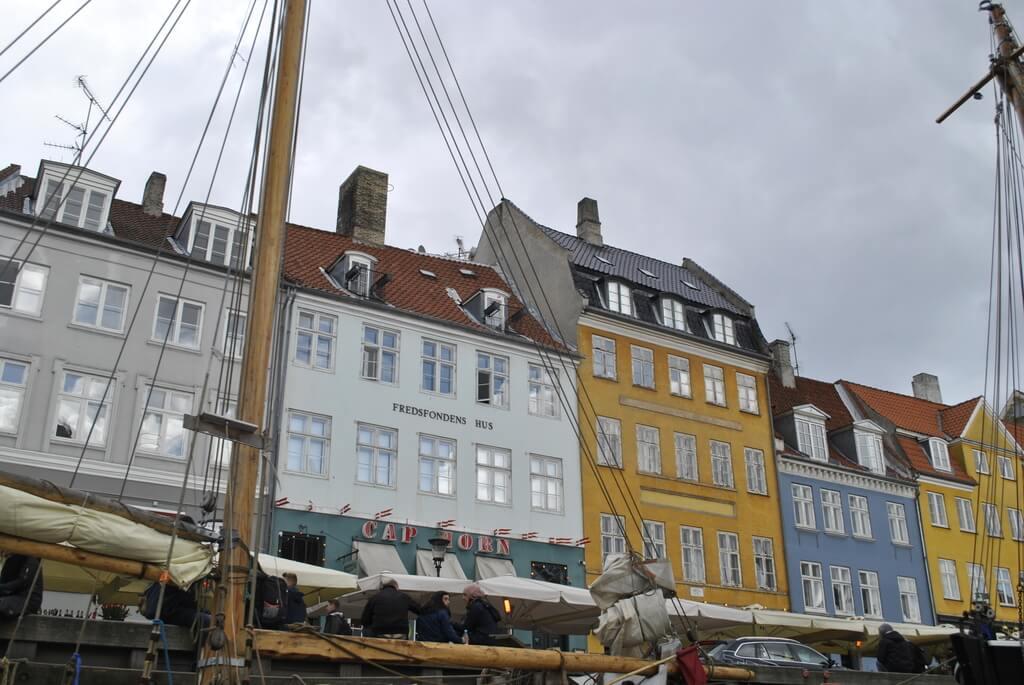 Rincones preciosos del puerto de Nyhavn