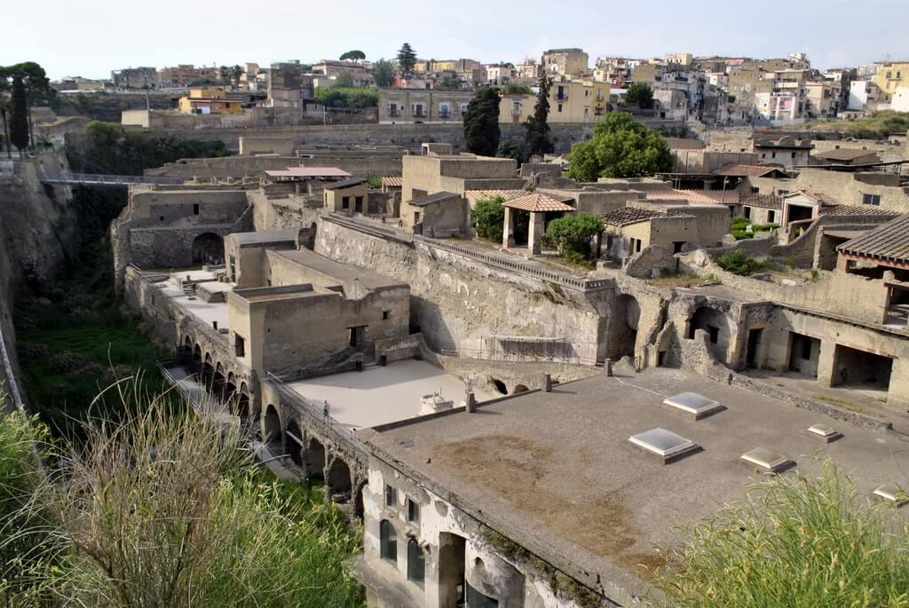 guía para visitar Herculano