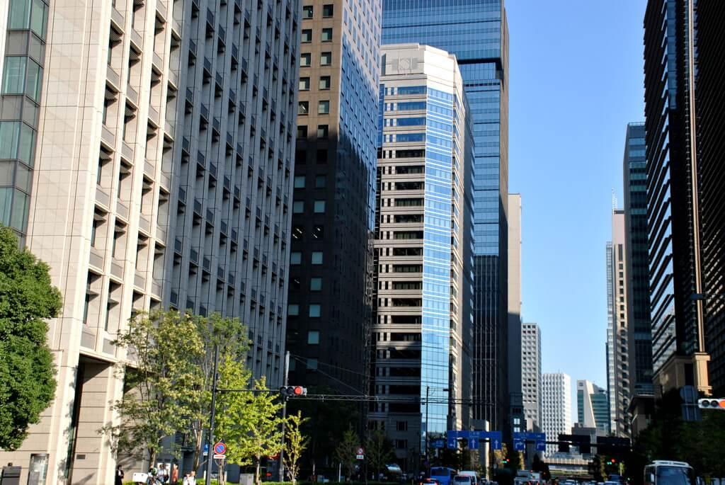 Marunouchi, distrito financiero de Tokio