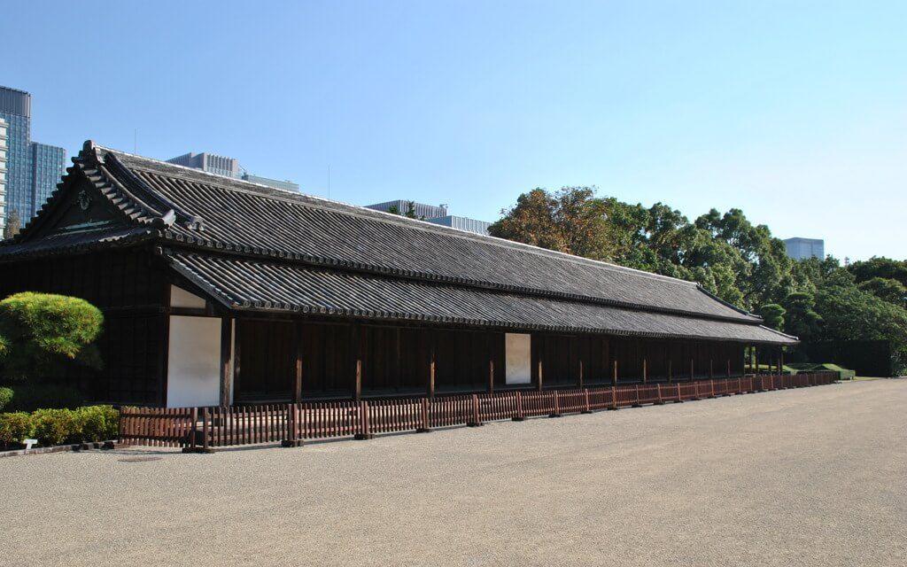 Uno de los edificios de los Jardines Orientales