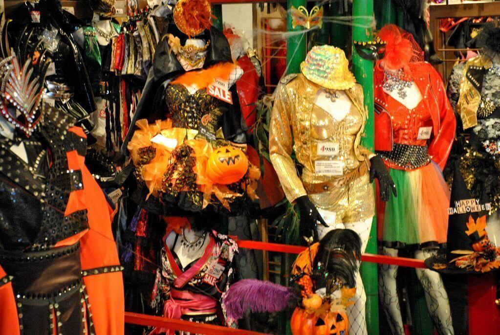 Tienda de disfraces en Takeshita Dori