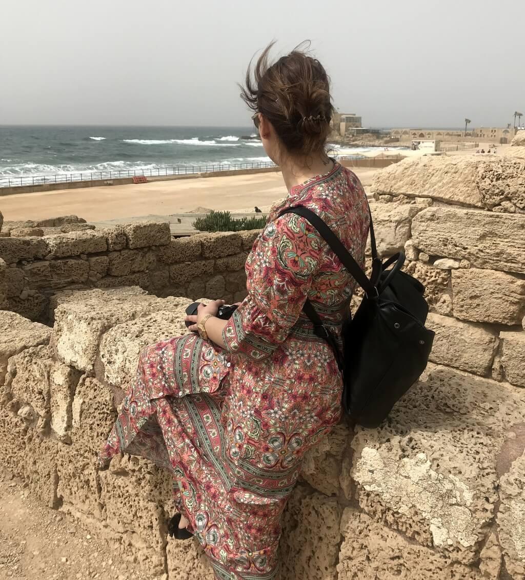 ruinas de Cesarea, Israel