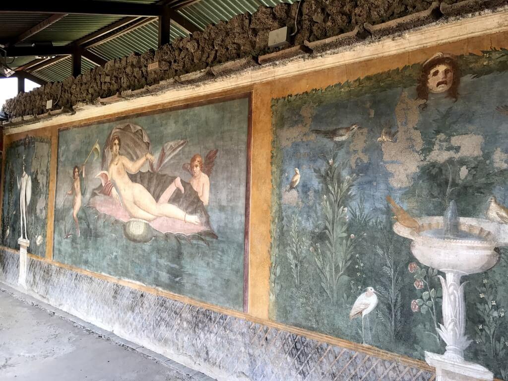 """Fresco de la """"Venus de la Concha"""""""
