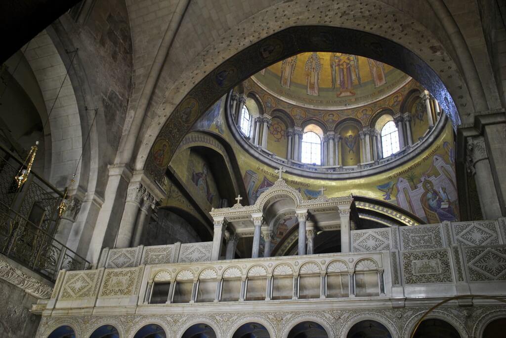 Interior Iglesia del Santo Sepulcro
