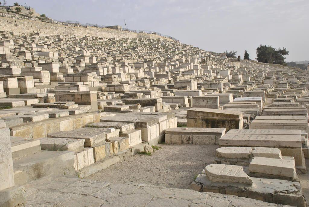 Cementerio judío en la ladera del Monte de los Olivos