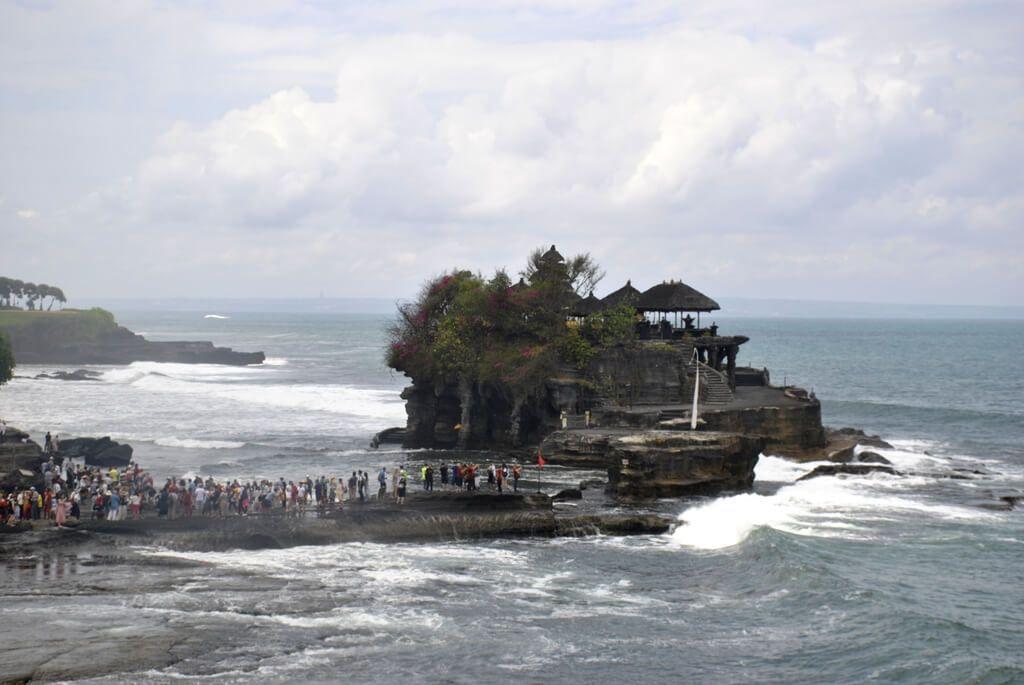El templo de Tanah Lot