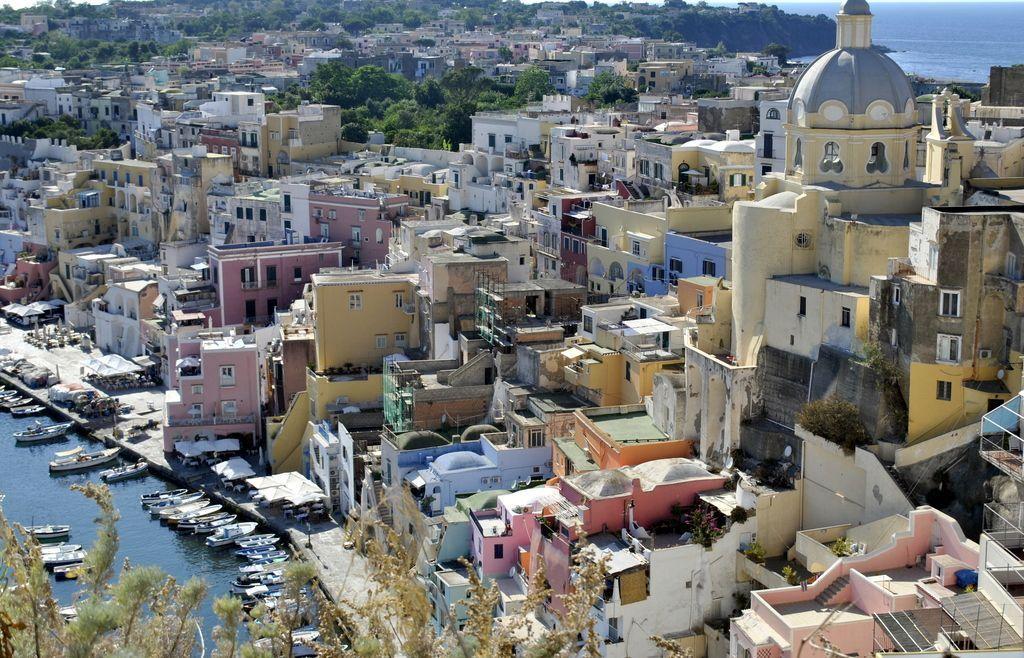 Casas de colores de Marina Corricella