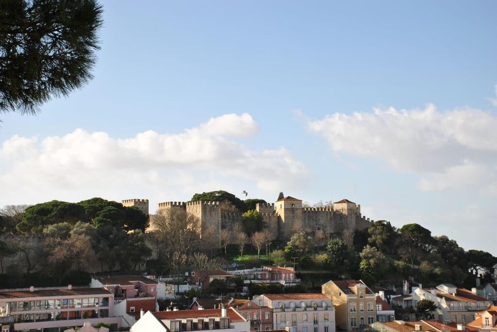 Castillo de San Jorge desde el Mirador da Graça