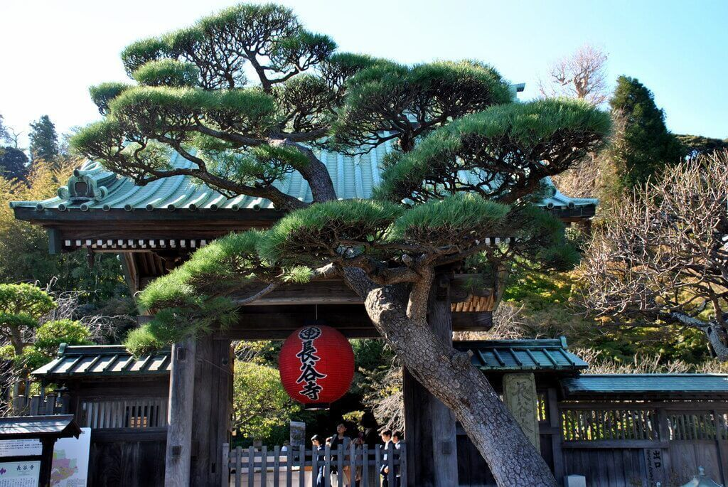 Entrada al Templo Hase-Dera