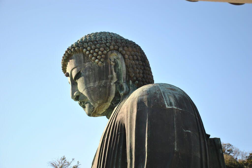 Detalle del Gran Buda de Kamakura