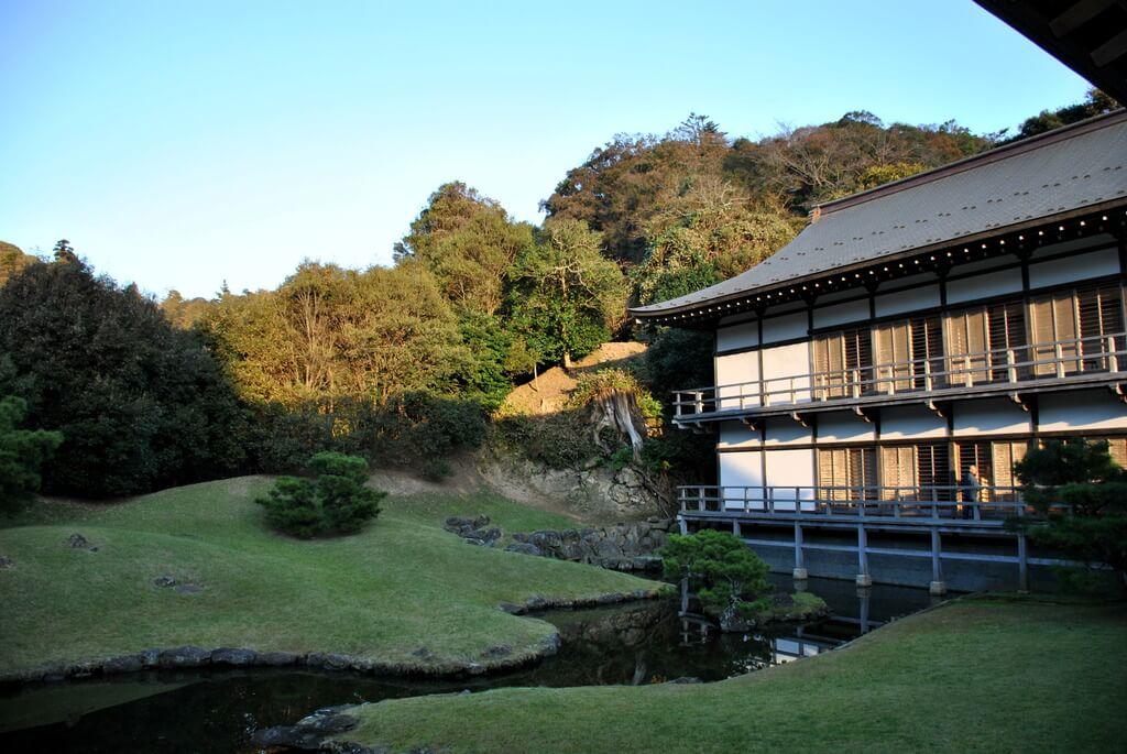 Jardín zen del Templo Kencho-ji